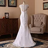 JinXuanYa Womans New Noble Sweetheart Beaded Lace Wedding Dresses Bridal Gowns