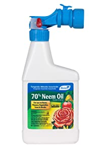 Monterey Lawn & Garden Ready To Use Insecticide Neem Oil Spray Omri Pt