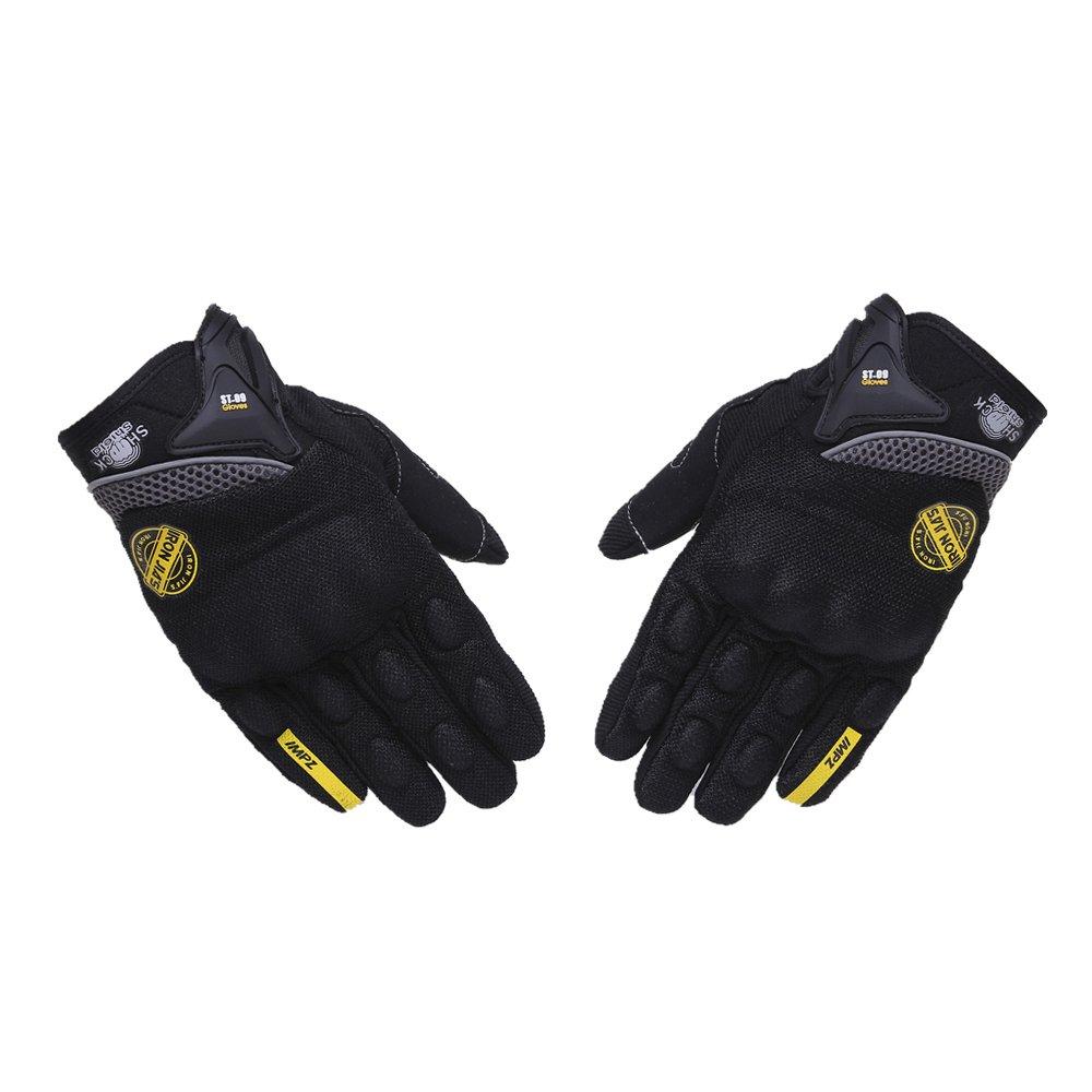 guanti da guida protezioni per le dita guanti da moto Guanti da moto per guanti da touch screen per uomo donna da corsa fuoristrada traspiranti