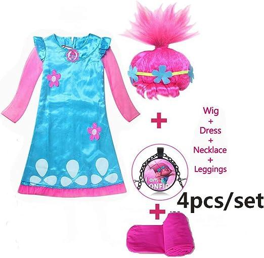 DMMDHR Disfraces de Halloween para niños Vestidos para niñas ...