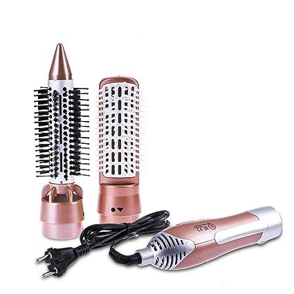Cepillo De Aire Caliente,1200 W Base Cerámica Secador Eléctrico Rizador de Pelo Automático Giratorio