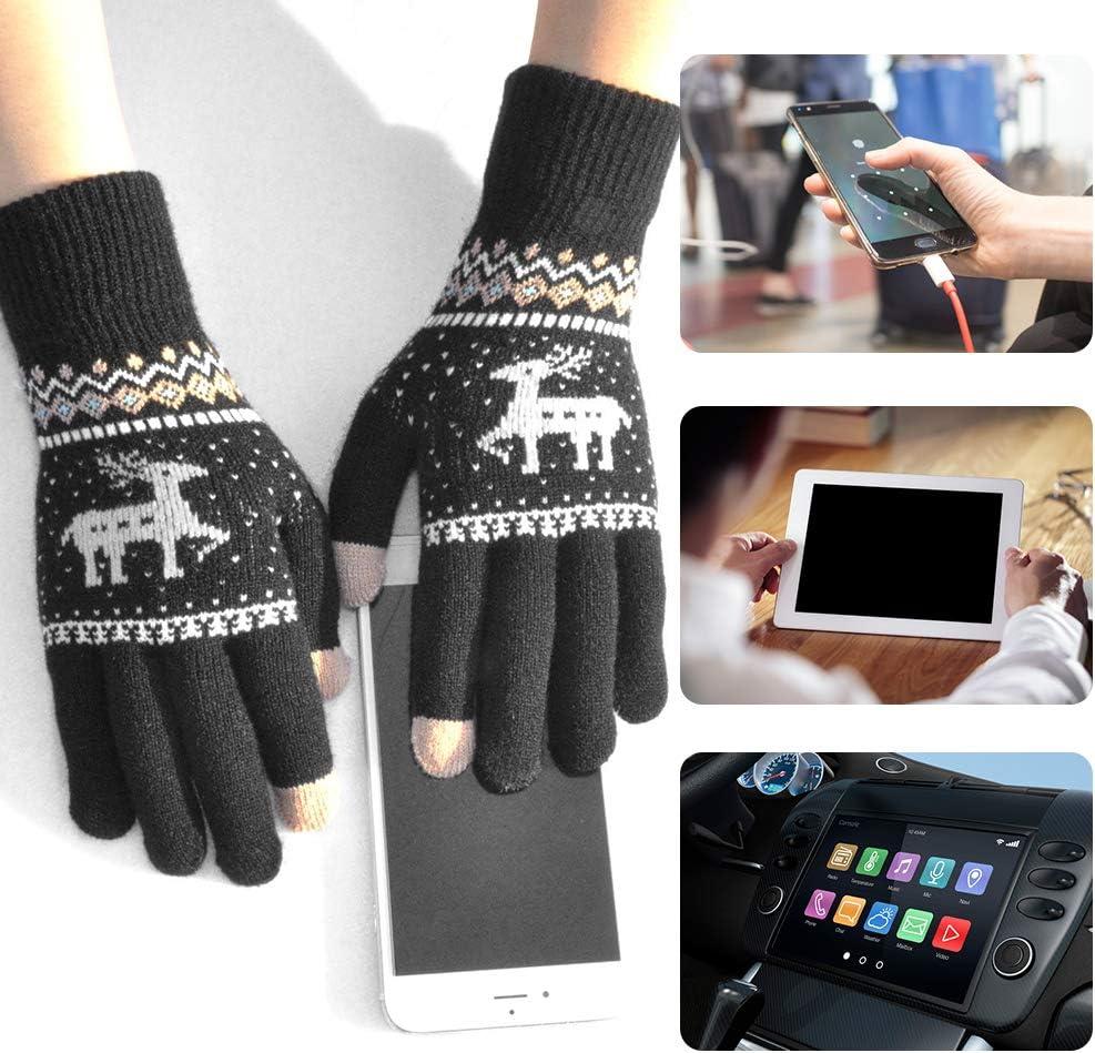 Bonitos guantes de punto Leeofty (3 colores) por sólo 5,99€ con el #código: V4EIPRTR