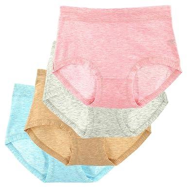 NEU,4 Stück Damenunterhose,Hüftslip,Schlüpfer,Baumwolle,4er Pack Taillienslip