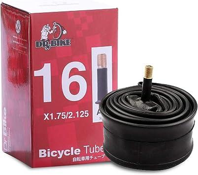 """16/"""" x 1.75-2.125 SCH Valve Schrader Inner tubes Kids Bike Bicycle Pair"""