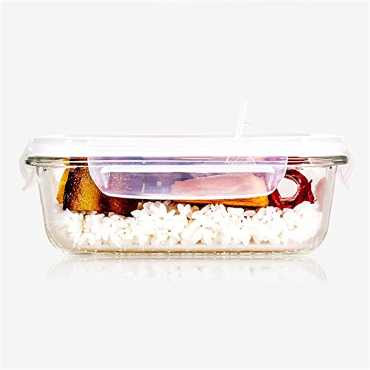Recipientes de vidrio pyrex Microondas Refrigerador fresco ...