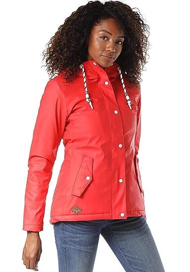Ragwear Marge 4000 Jacke 1921 Damen Red Rot 60042 E2YWIHD9