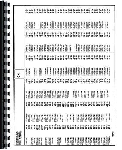 Massey Ferguson 1250 Tractor Parts Manual pdf