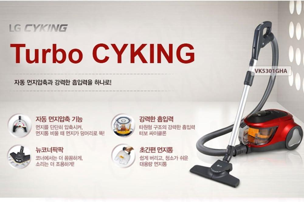 LG Turbo Cyking aspiradora 220 V 60 hz Corea C Tipo Enchufe: Amazon.es: Hogar