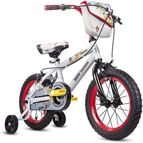 Xuetaimeigu Bicicleta para niños Bicicleta para niños 12/14/16 Pulgadas Cochecito para Adolescentes Bicicleta de montaña Color : White, Size : 12INCH(92CM*20CM*54CM): Amazon.es: Deportes y aire libre