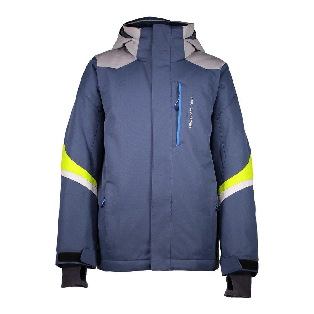 Obermeyer Kids Boy's Fleet Jacket (Little Kids/Big Kids) Trident Small