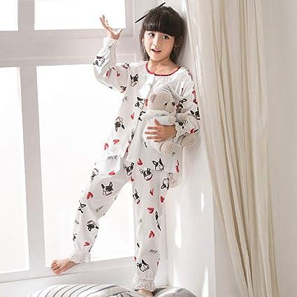selezione premium b9c6e 57181 GZZ Pigiama per Bambini Bambine Pigiama da Donna Camicie da ...