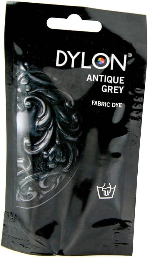 Dylon - Tinte para teñir tejidos a mano, color gris: Amazon ...