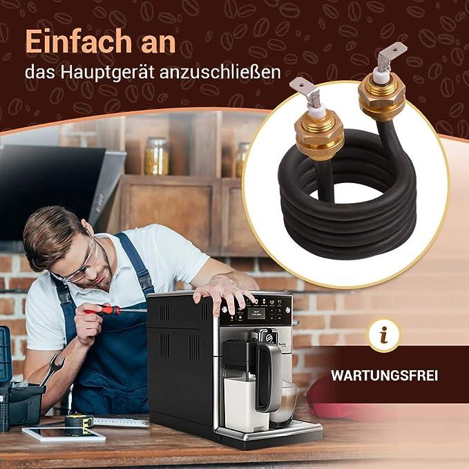 Elemento calefactor espiral 900 W 230 V para Philips Saeco Poemia, máquina de café automática, cafetera como 11024000 996530067973: Amazon.es: Hogar
