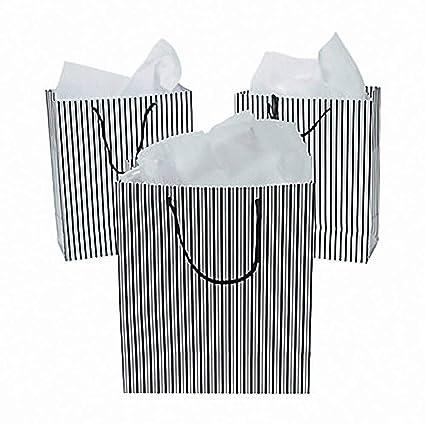 Amazoncom Lot Of 12 Paper Medium Black And White Wedding Bridal