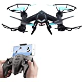 Rabing RC Quadcopter Flight Path FPV VR WiFi RC Drone 2.4GHz 6-Axis Gyro Remote Control Drone HD 2MP Camera Drone