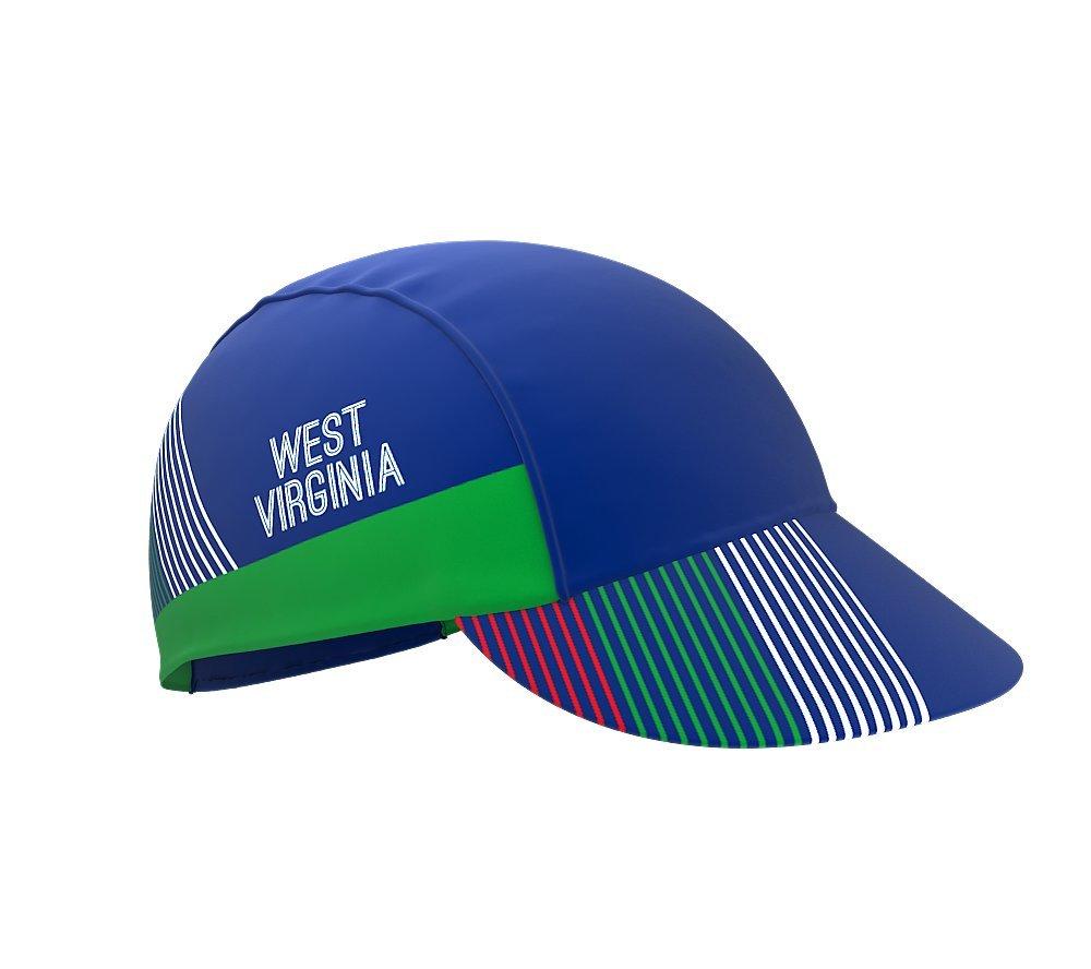 West Virginia Bike Cycling Cap