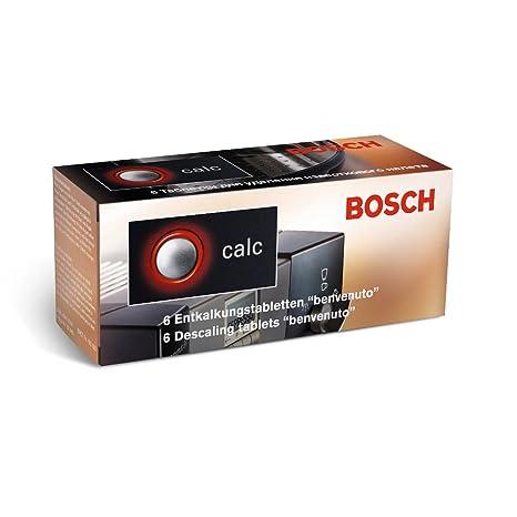 Amazon.com: Bosch Entkalkungstabletten TCZ 6002, Inhalt: 6 ...