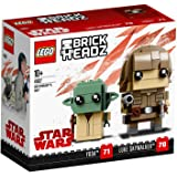 LEGO 乐高 拼插类玩具 BrickHeadz 方头仔-星球大战绝地师徒套装 41627 10+岁