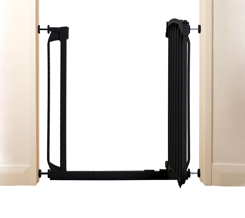 Black Bindaboo Zoe Pet//Dog Gate Fits openings 70 to 80cm