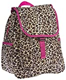 Leopard Print Mini Backpack