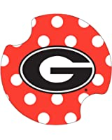 Thirstystone University of Georgia Dots Car Cup Holder Coaster, 2-Pack