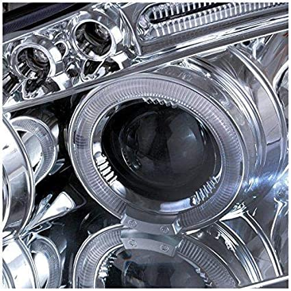 Amazon.com: Toyota Corolla 2003 2004 2005 2006 2007 LED Halo Projector Headlights - Chrome: Automotive