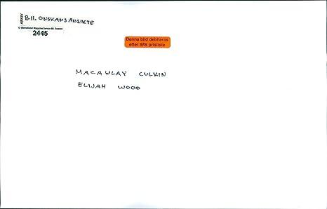Amazon.com: Vintage photo of Macaulay Culkin as Henry Evans ...