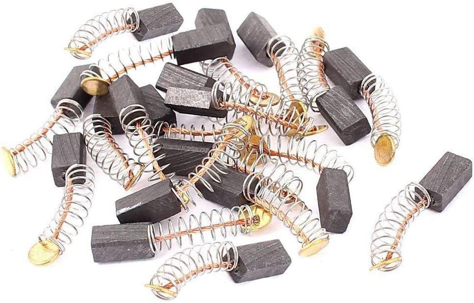 10 Pairs 10mm x 8mm x 5mm Motor Carbon Brush for Makita CB-64 Power Tool