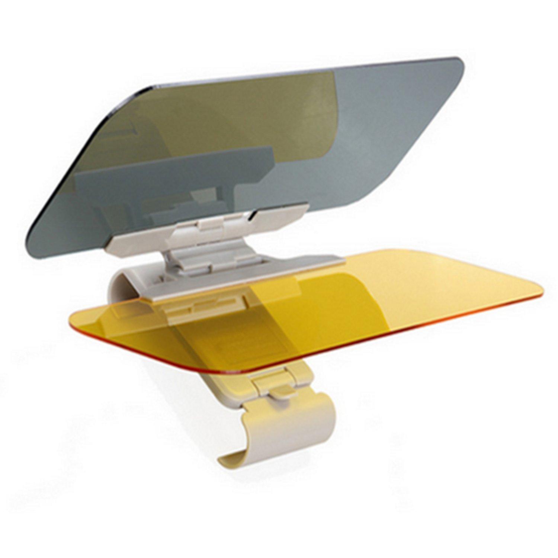 antideslumbrante para d/ía y noche para espejo retrovisor de coche y asiento del conductor anti rayos UV Visera y parasol para coche PINKOPINK