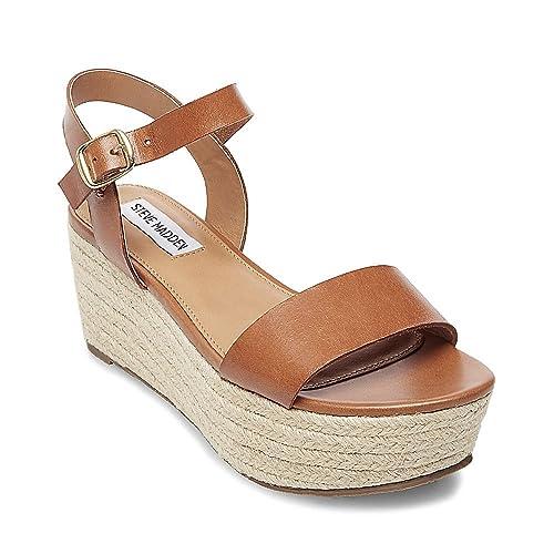 df9ae48e770 Steve Madden Women's Busy Wedge Sandal