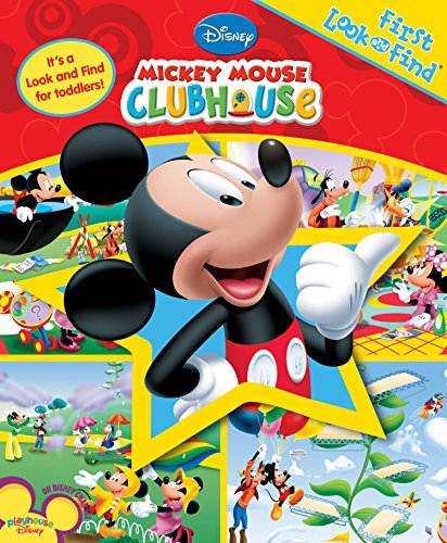 My First Look and Find: Mickey Mouse Clubhouse (My First Look And Find Mickey Mouse Clubhouse)