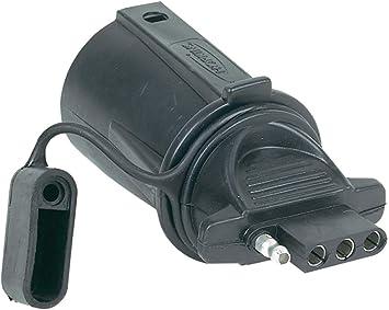 HOPKINS 7 Way RV To 4 Wire Flat Adapter Hoppy 47355 NEW