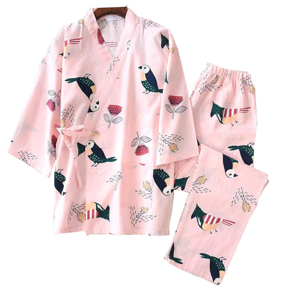 Camis/ón japon/és de Pijamas de Estilo Kimono para Mujer