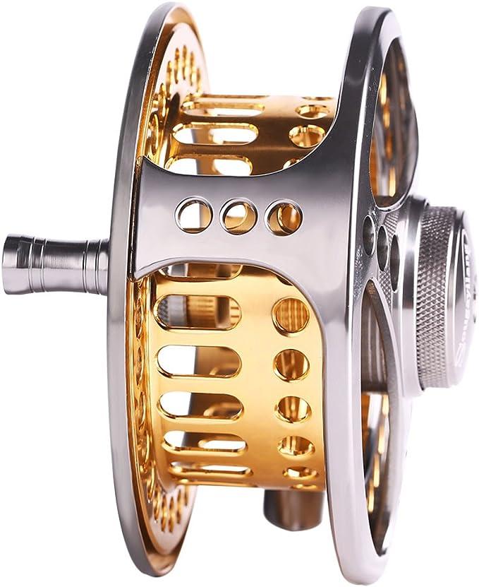 Bobine de p/êche /à la mouche Grande tonnelle 2/ 1/BB avec corps en alliage daluminium usin/é CNC et bobine en bobine de Fly Tailles 7//8