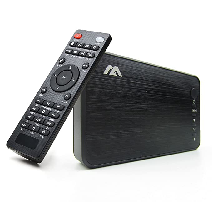 2 opinioni per AGPTEK Media Player Lettore video HDMI VGA USB OTG SD AV TV Avi RMVB