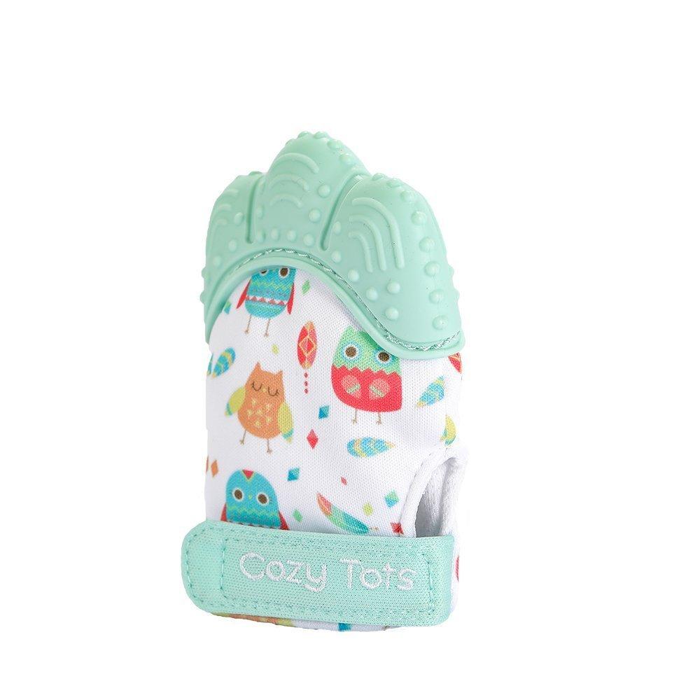 Cozy Tots Rose Moufle mitaine de dentition en silicone diff/érent coloris