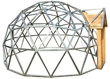 18 foot diameter geodesic dome frame kit