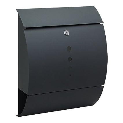 HENGMEI 305 * 96 * 335mm Buzones de acero inoxidable con el ...