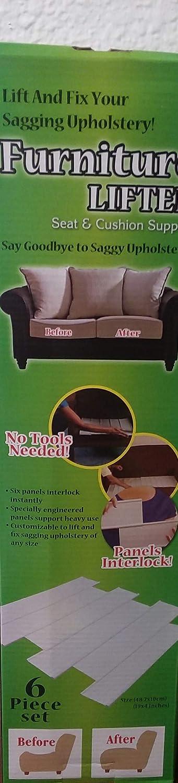Furniture Lifter Seat Cushion Support Interlocking Panels Fix Sagging Upholstery