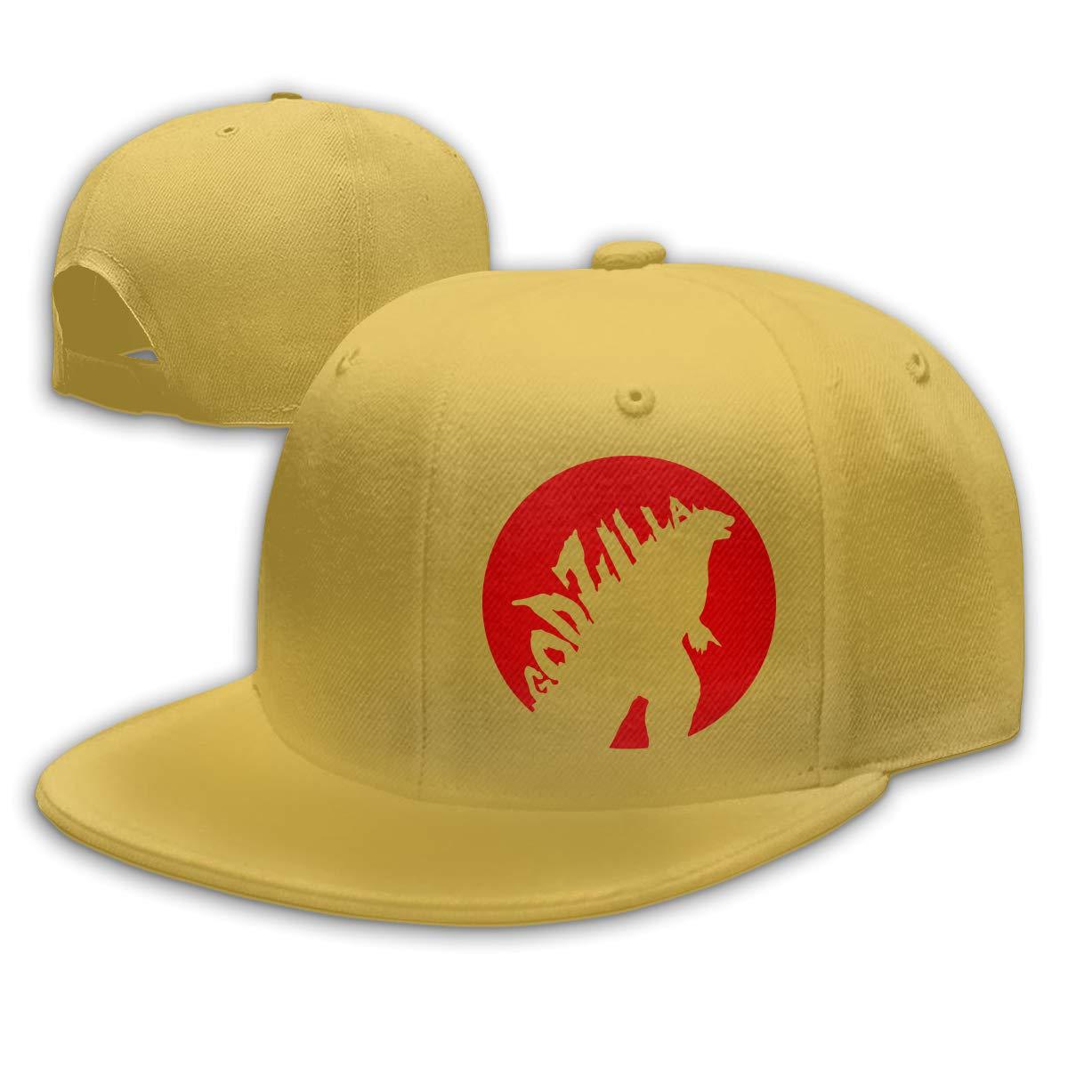 Gorra de béisbol Godzilla 2014 para Hombre y Mujer, Color Negro ...