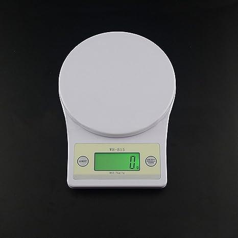 kglobal 7 kg/1g LED Digital de dietas de alimentos escala de pastelería Peso Medición