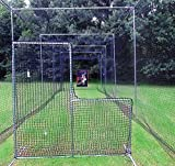 L-Screen 6' x 7' Professional Baseball Safety Frame & Heavy 60ply Net L Screen …