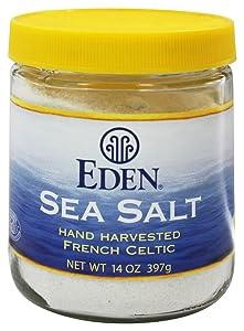 Eden Foods French Sea Salt, 14 Ounce - 6 per case