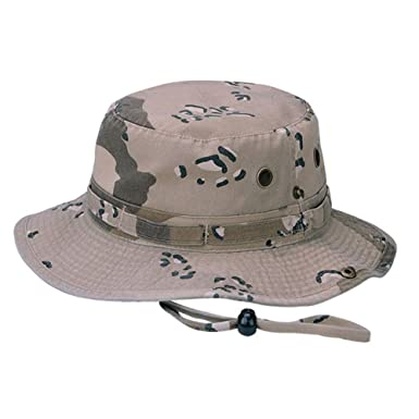 93e259bc0d2 Amazon.com  Camo Twill Washed Hunting Hat w Cord  Clothing