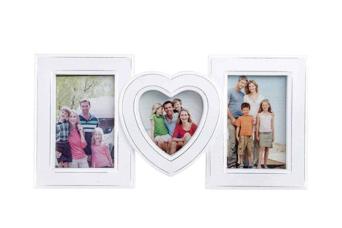 Unbekannt Bilderrahmen 40x20cm - Weiss - Klassisch Herz Familie ...
