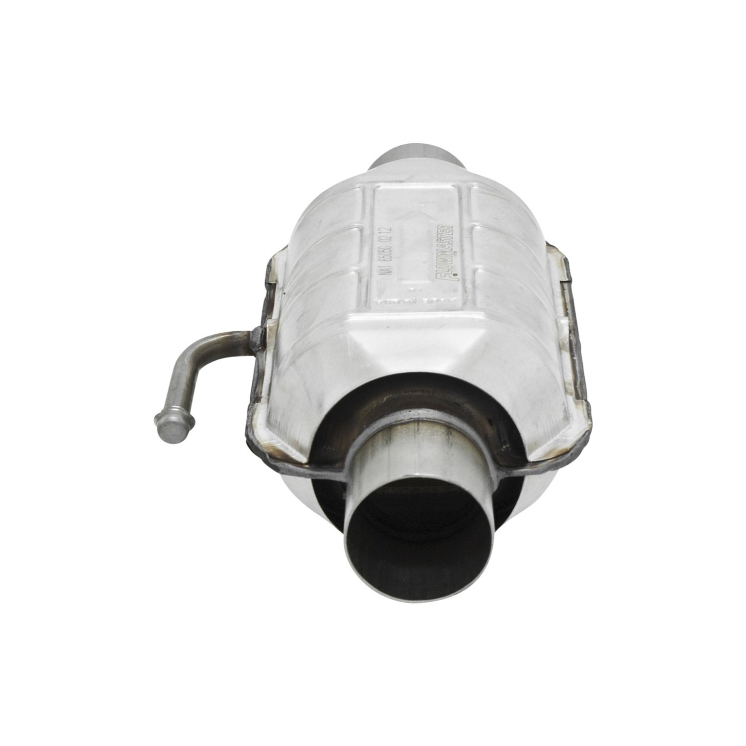 Flowmaster 2200125 220 Series 2.5 Inlet//Outlet Universal Catalytic Converter