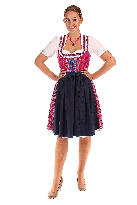 Hammerschmid Damen Dirndl Mini Weissensee 26508 beere