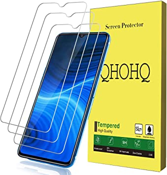 QHOHQ Protector de Pantalla para Realme X2 Pro, [3 Piezas] [Dureza ...
