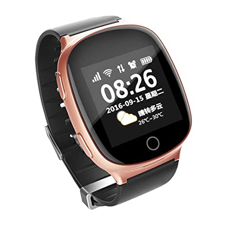 Amazon.com: ZMDHLY Smart Watch - Heart Monitor with Falling ...