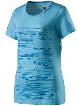 4fb4e34884a35 MC KINLEY Mckinley 273590641048 T- T-Shirt Femme, Turquoise, FR : 2XL